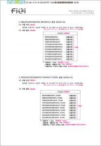 ベルト部分重金属類含有量試験(2/2)